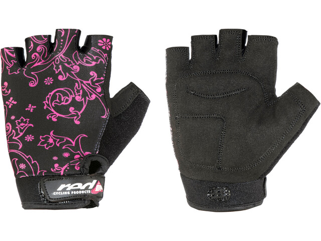 Red Cycling Products Race Bike Gloves Girls black-pink
